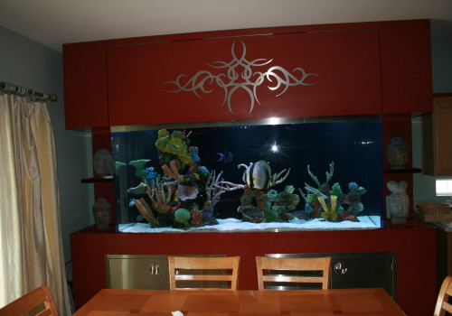 1000 Gallon Free Standing With Faux Reef Islands