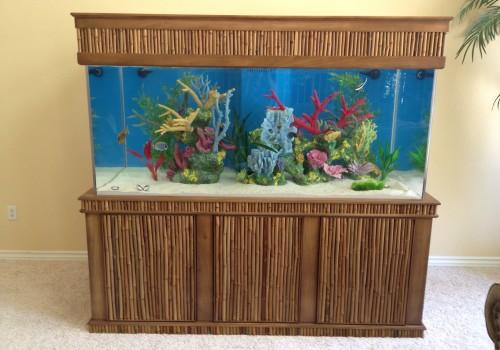 Custom Tiki Style Aquarium